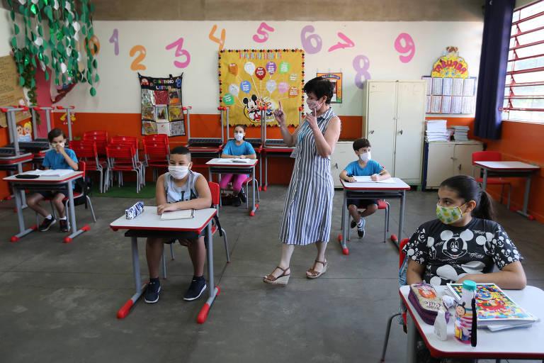 Reabertura de escolas estaduais de SP