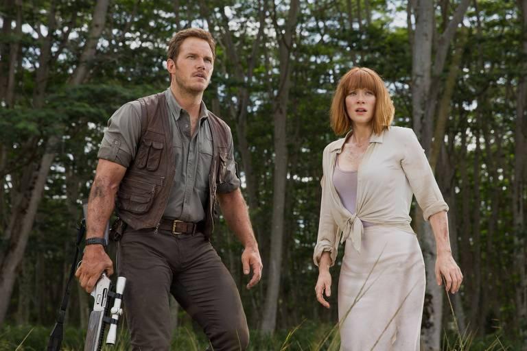Cena do filme 'Jurassic World'