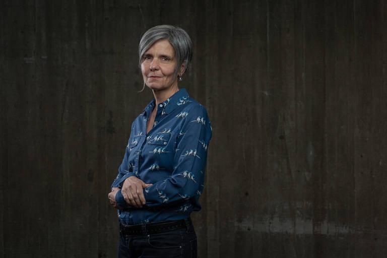 A jornalista Ana Estela de Souza