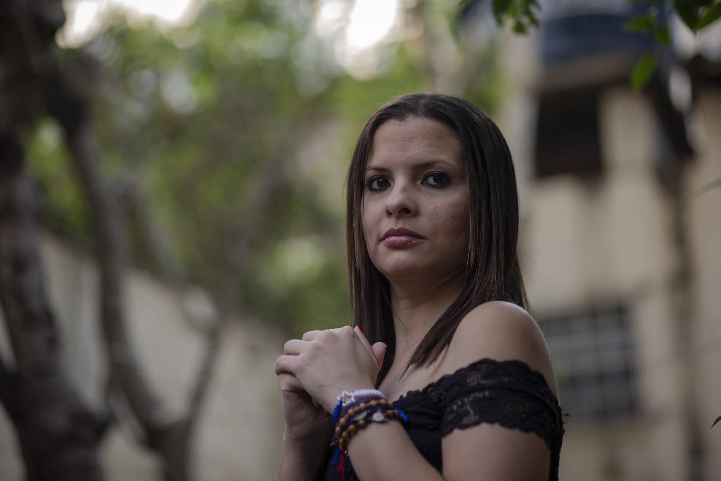 A jornalista Gabriela Castro, que escolheu se exilar em São Paulo por já ter feito um mestrado na cidade