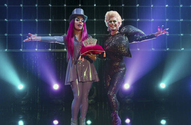As apresentadoras da atração serão Alexia Twister e Glória Groove
