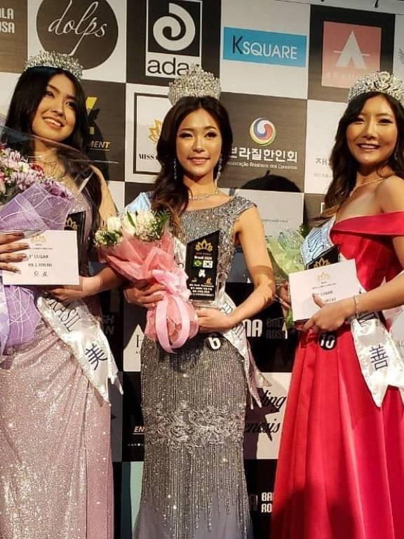 Hae Won Han (Larissa)  foi eleita Miss Coreia Brasil