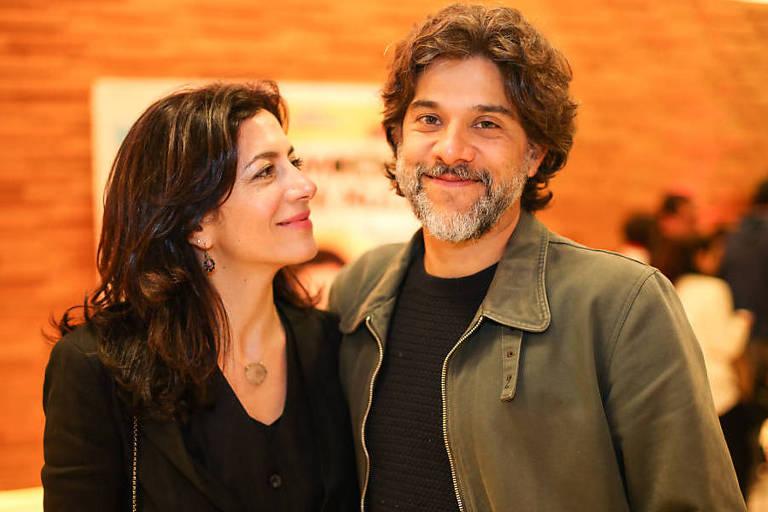 A apresentadora Marina Person e seu marido, Gustavo Moura, diretor e roteirista, lançam um programa em áudio em que debatem grandes clássicos do cinema