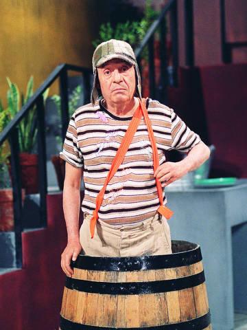Televisão: o ator Roberto Gómes Bolaños, criador e protagonista da série mexicana
