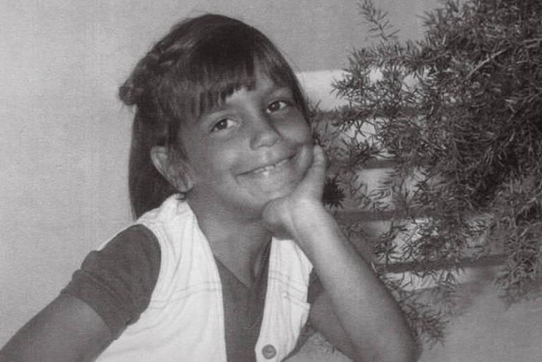 Ivete Sangalo quando criança