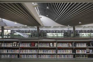 ***Ensaio Biblioteca Fechada*** Instalacoes da  Biblioteca Sao Paulo no Parque da Juventude. Biblioteca esta fechada durante a quarentena e devera reabrir apos fase verde da pandemia ser anunciada