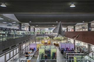 ***Ensaio Biblioteca Fechada*** Instalacoes da  Biblioteca Sao Paulo no Parque da Juventude. . Biblioteca esta fechada durante a quarentena e devera reabrir apos fase verde da pandemia ser anunciada