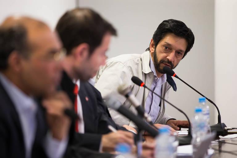 Ricardo Nunes é candidato a vice-prefeito com Bruno Covas