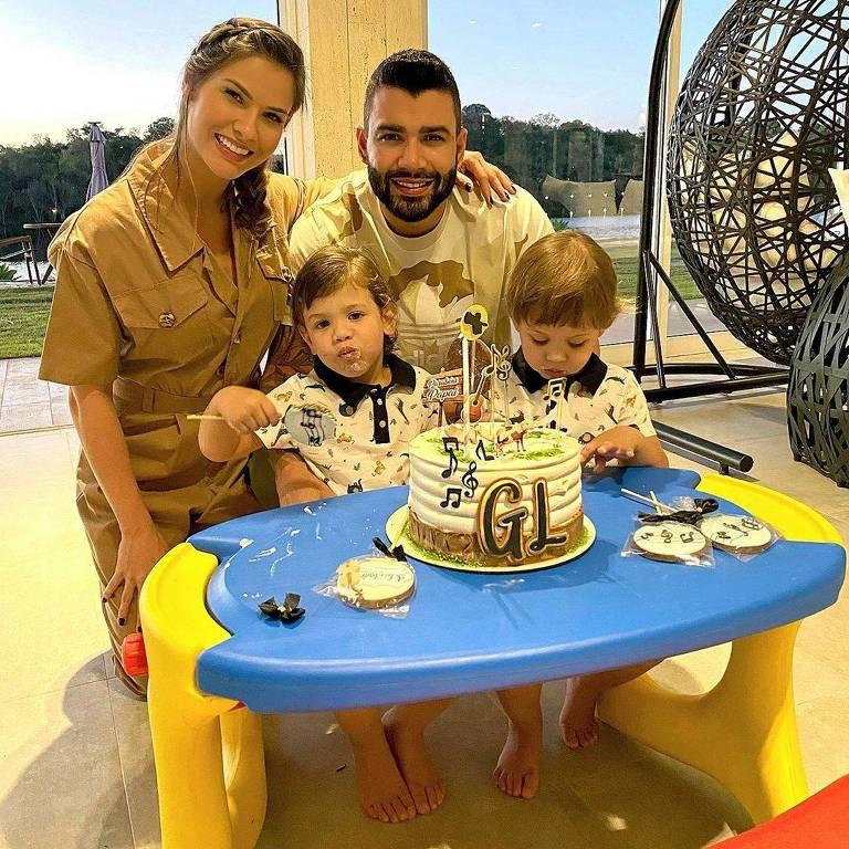 Gusttavo Lima e Família
