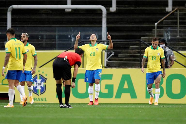 Brasil joga bem e arranca nas Eliminatórias com goleada sobre a Bolívia