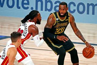 NBA: Finals-Miami Heat at Los Angeles Lakers