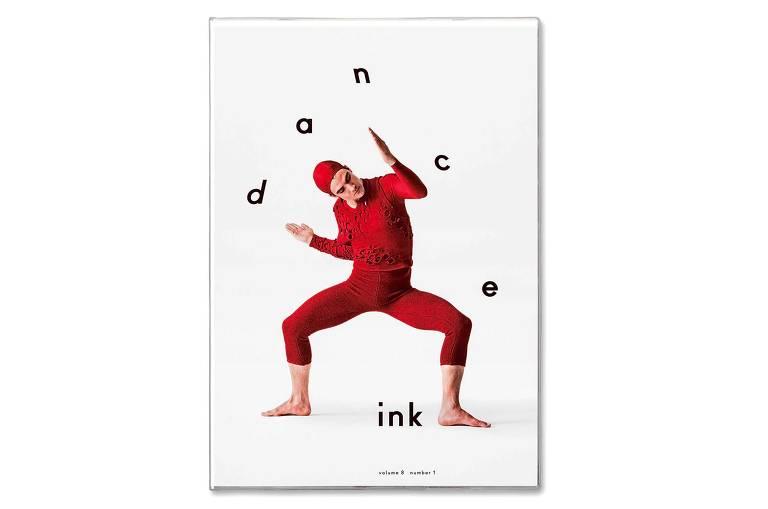 Capa da revista Dance Ink, projetada pelo designer Abbott Miller