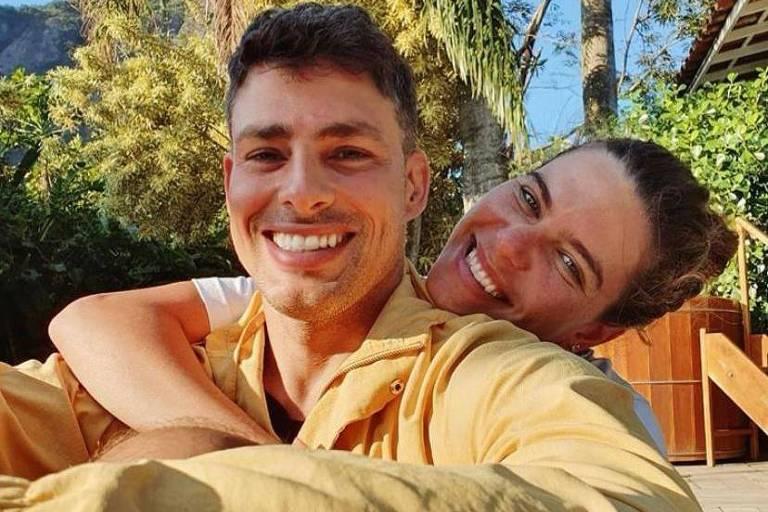 Cauã Reymond diz que ele e sua mulher, Mariana, já estão recuperados da Covid