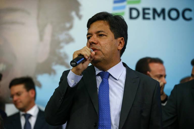 Mendonça Filho, candidato do DEM no Recife, é entrevistado em sabatina Folha/UOL