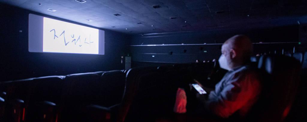 Petra Belas Artes na reabertura dos cinemas em São Paulo