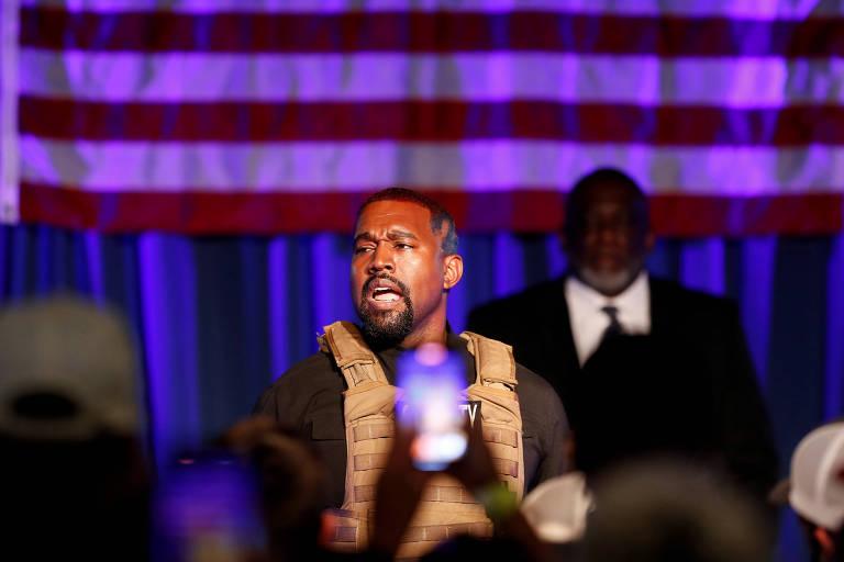 Kanye West foca religião em primeiro vídeo de campanha à Presidência dos EUA
