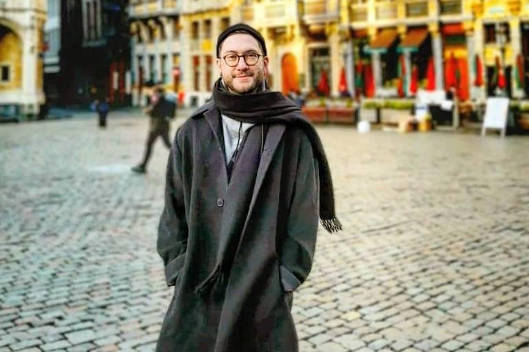 O brasileiro Rodolfo Piskorski, que mora no Reino Unido desde 2011