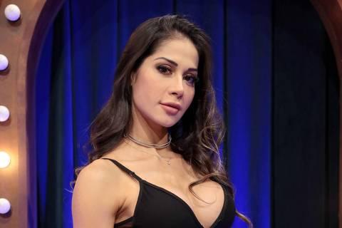 Mayra Cardi é a convidada desta quinta, 17 de setembro  no The Noite com Danilo Gentili