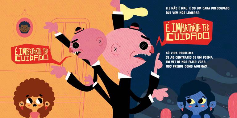 Veja algumas ilustrações de 'E Foi Assim Que Eu e a Escuridão Ficamos Amigas'