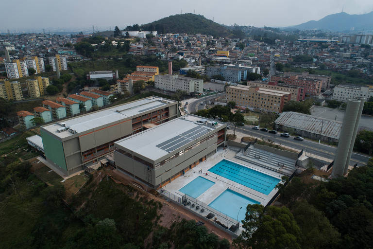 O CEU (Centro Educacional Unificado) Taipas, na zona norte da capital paulista, é um dos exemplos de obras prometidas e ainda não entregues pela gestão Covas na periferia