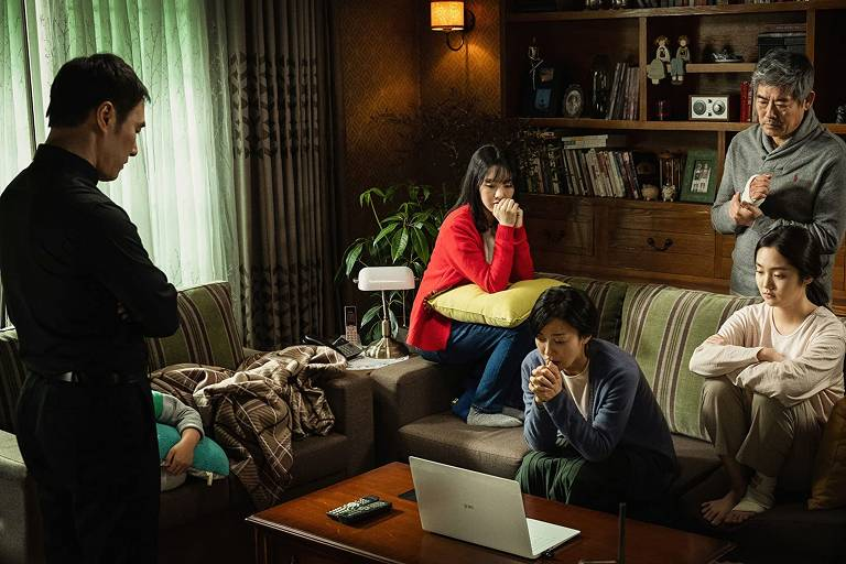 "Cena do filme ""As Faces do Demônio"" (2019), de Hong-seon Kim"