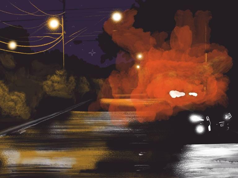 Ilustração para a série Nós de São Paulo - Segurança