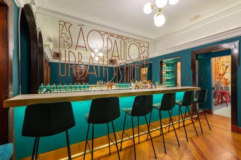 A São Paulo Urban Distillery, novo bar na Consolação