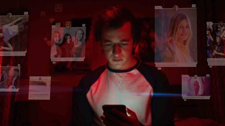 Imagens do documentário O Dilema das Redes