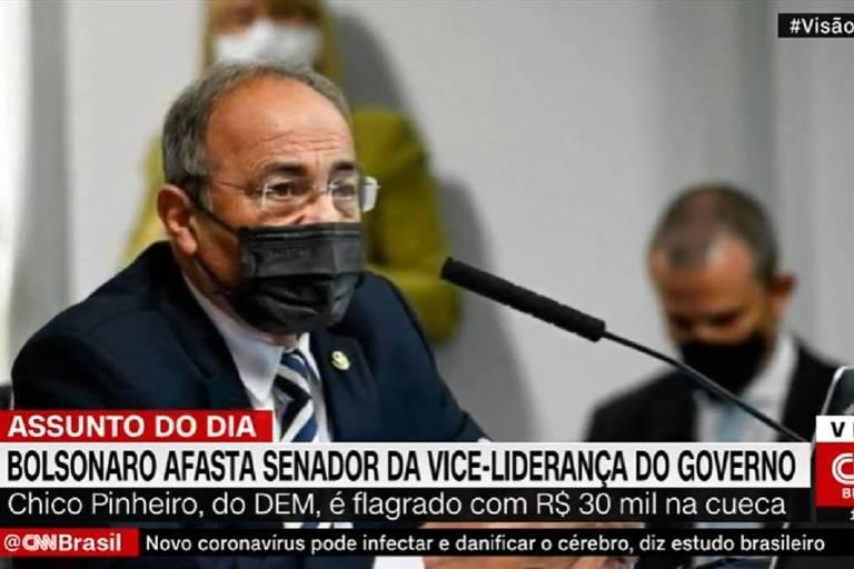 CNN confunde Chico Rodrigues com Chico Pinheiro