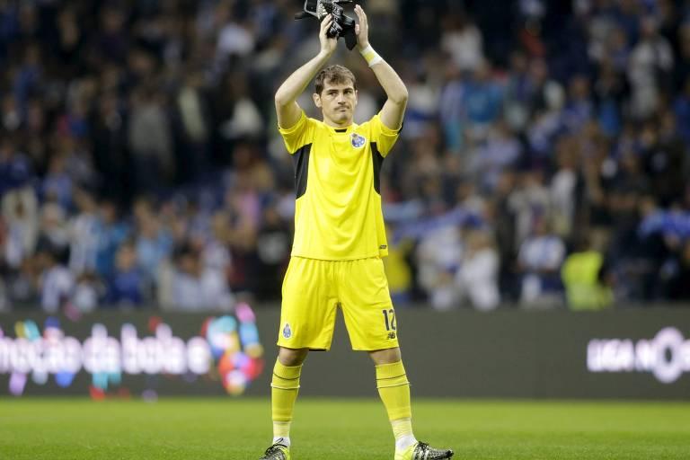 O goleiro espanhol em seu primeiro ano pelo Porto, após 16 temporadas no Real Madrid