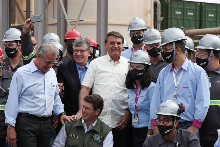 Bolsonaro inaugura usina de biogás em Guariba (SP)