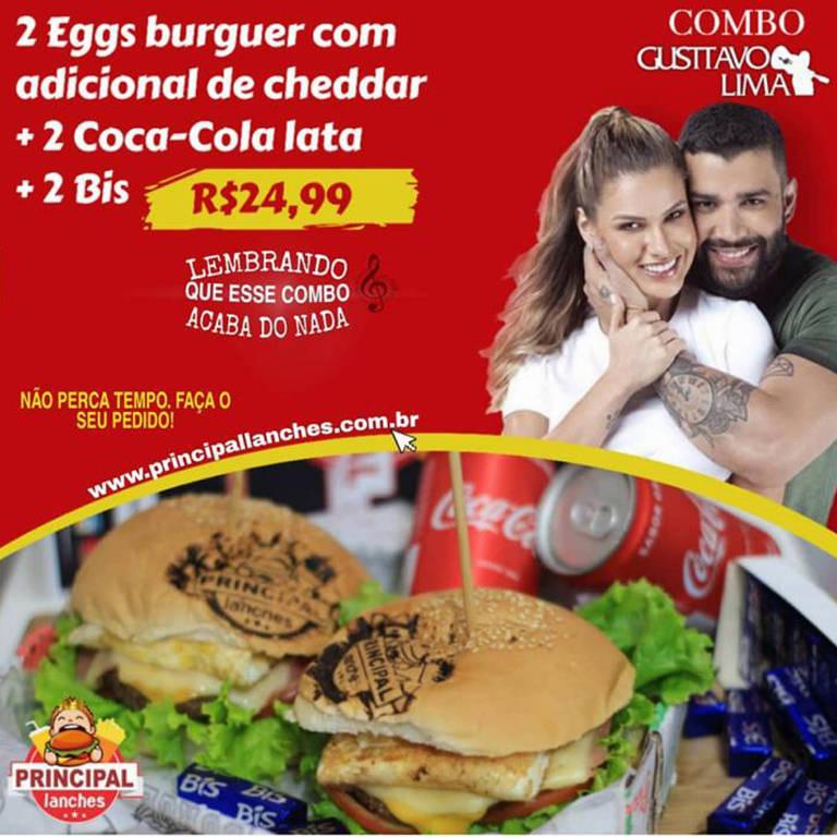 """Separação de Gusttavo Lima e Andressa  vira tema de promoção em restaurantes: """"Acaba do nada"""""""