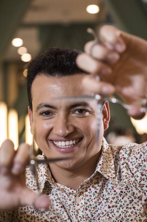 Imagens do cabeleireiro Rodrigo Cintra