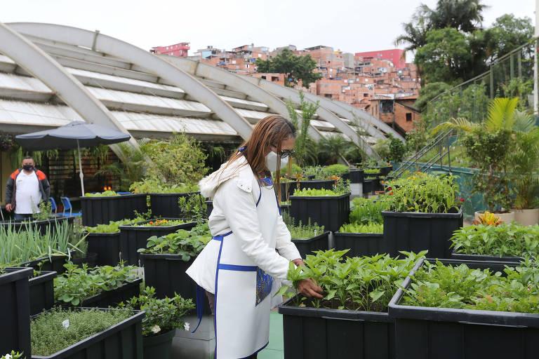 Paraisópolis inaugura horta comunitária