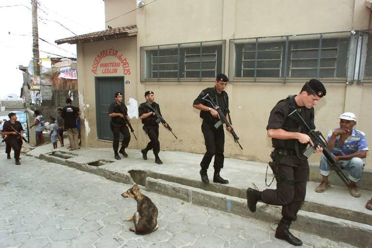 História da letalidade policial no RJ