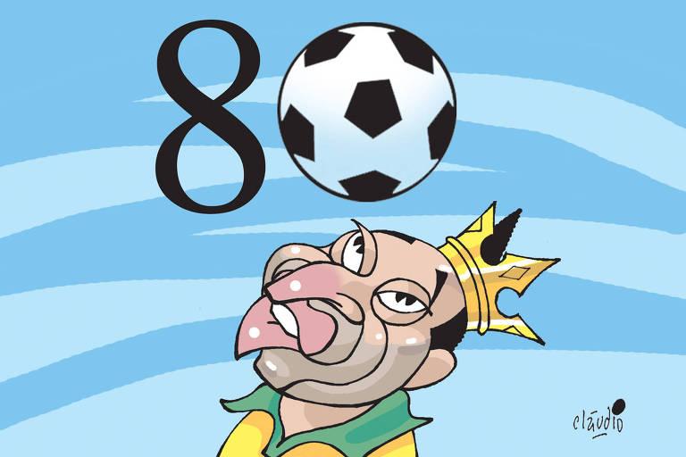 Caneladas do Vitão: Pelé - 80 anos do rei do futebol