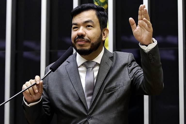 O deputado federal Loester Trutis (MS), um dos dois candidatos do PSL à Prefeitura de Campo Grande