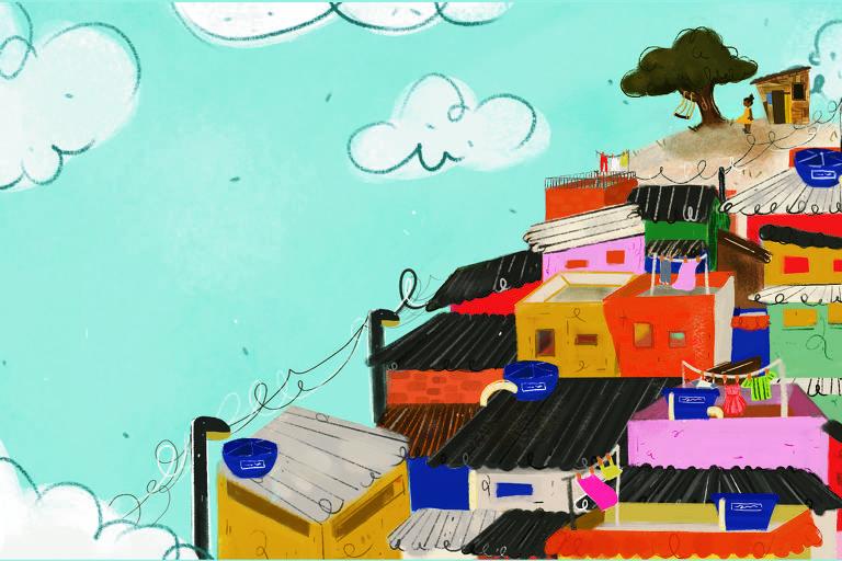 Ilustrações do livro 'Morro dos Ventos'