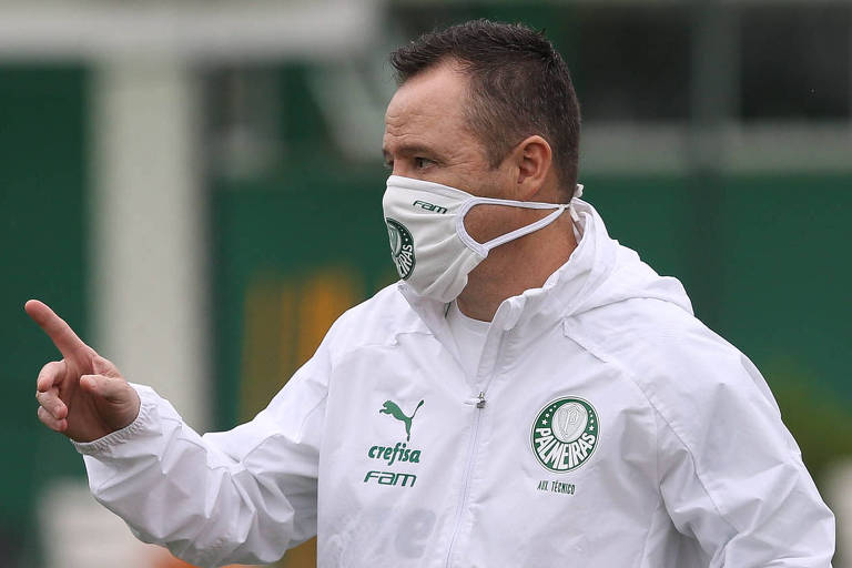 O auxiliar técnico Andrey Lopes comandará o Palmeiras na capital cearense