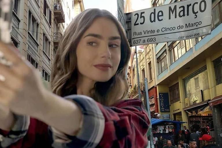 """Perfil no Instagram faz paródia do longa """"Emily em Paris"""""""