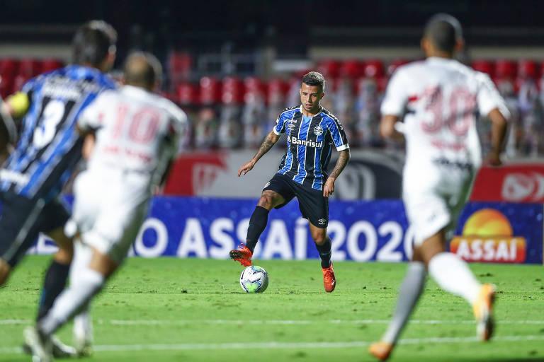 Grêmio tenta anulação do empate com o São Paulo, no Morumbi