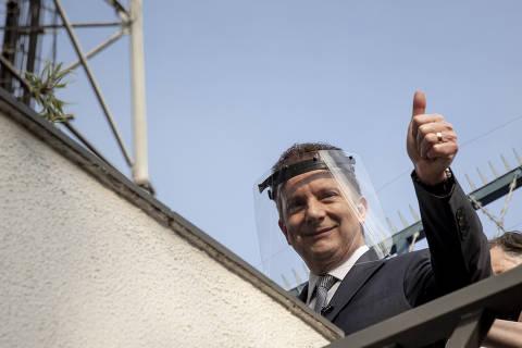 Russomanno derrete e cai para 20% em SP, e Covas chega a 23%, diz Datafolha