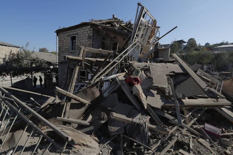 Conflito entre Azerbaijão e Armênia em Nagorno-Karabakh