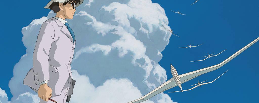 Cena da animação 'Kaze Tachinu', do diretor japonês Hayao Miyazaki