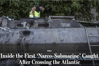 Wall Street Journal conta história do 'narco-submarino