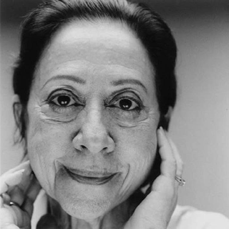 Retrato de Fernanda Montenegro feito pelo brasileiro Márcio Scavone
