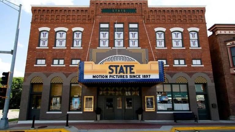 State Theatre é atração da zona rural de Iowa e reconhecido pelo livro Guinnes dos Recordes