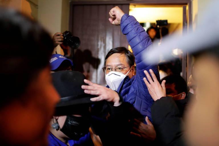 Carlos Mesa garantiu ao Parlasul que respeitaria pleito boliviano dias antes da eleição
