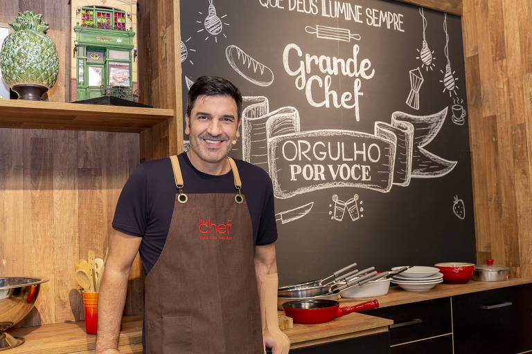 Programa The Chef com Edu Guedes