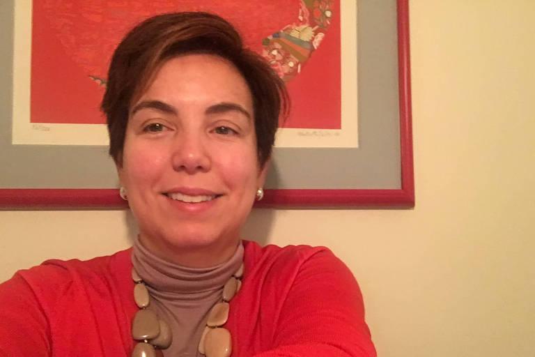 A brasileira Silvia S. Martins, professora da Universidade Columbia, que estuda legalização da maconha